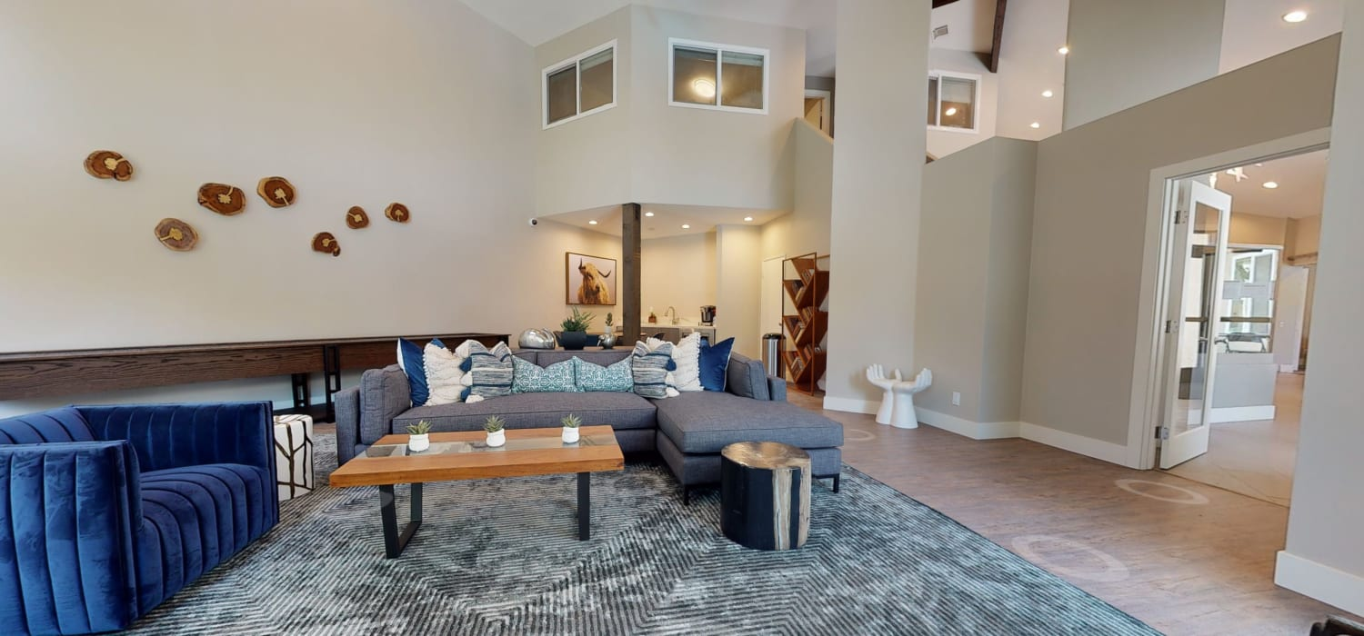 View a virtual tour of our clubroom and lobby at Mountain Vista in Victorville, California