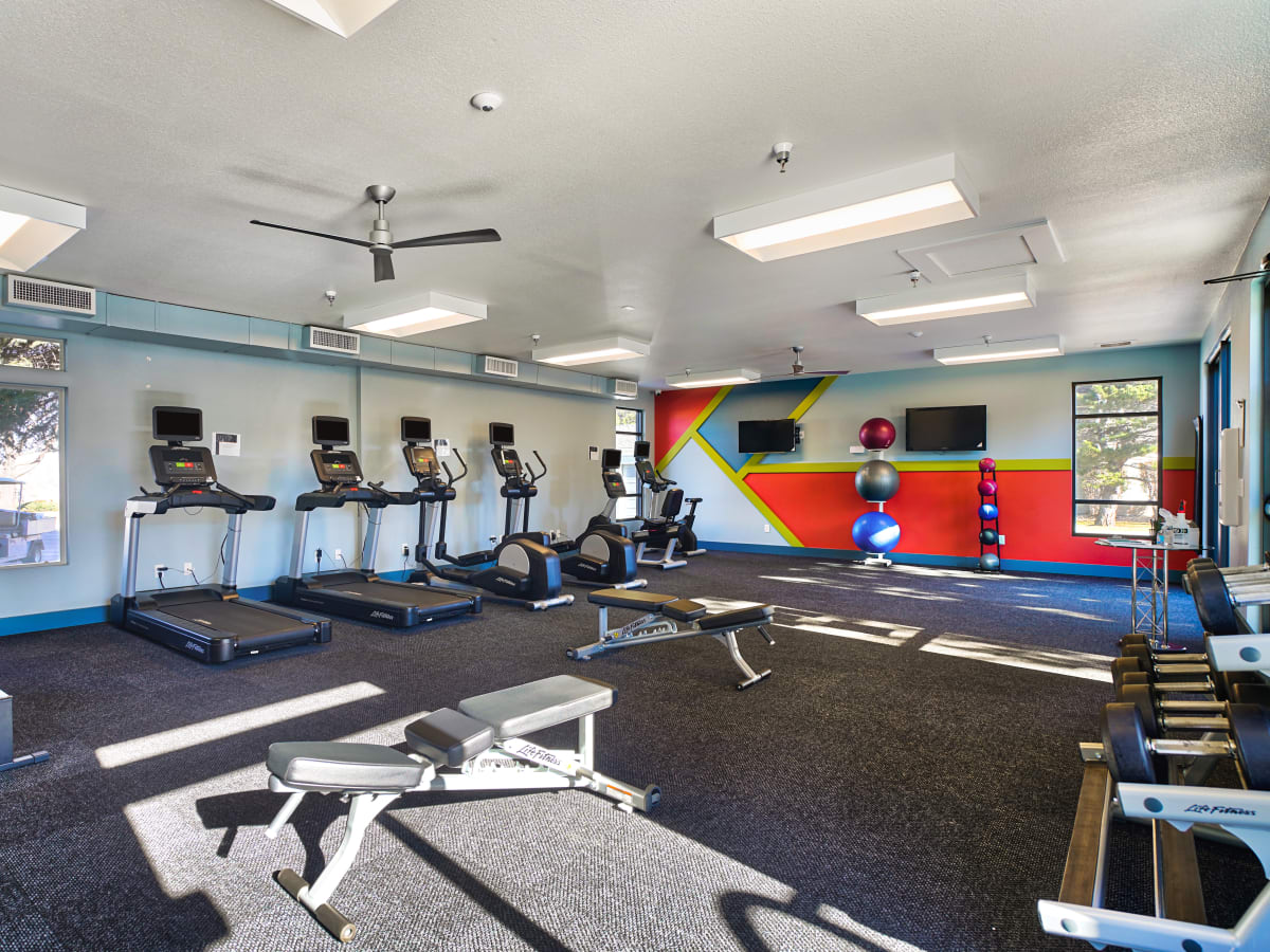 Fitness Center at The Pavilions at Silver Sage
