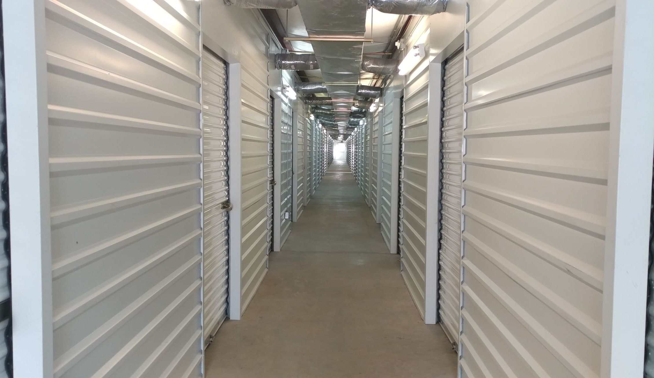 A variety of storage sizes at 1st American Stor-It in Katy, Texas
