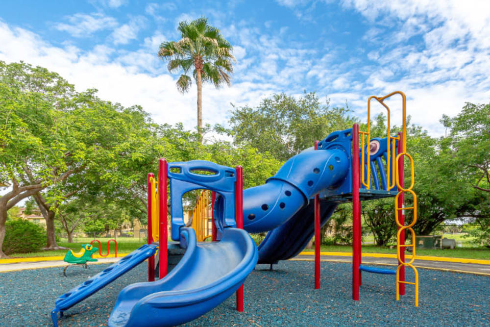 Playground at Fairway View Apartments in Hialeah, Florida