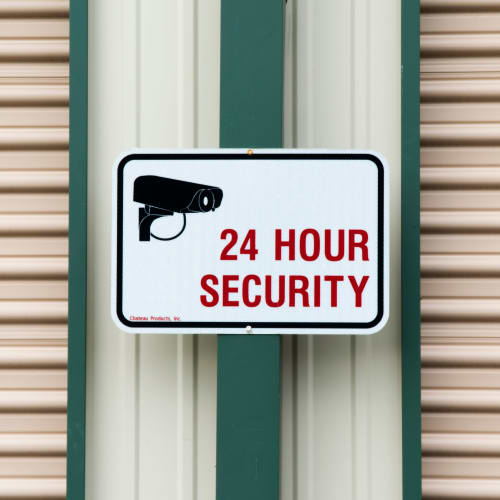 24 hour security at Red Dot Storage in Sycamore, Illinois