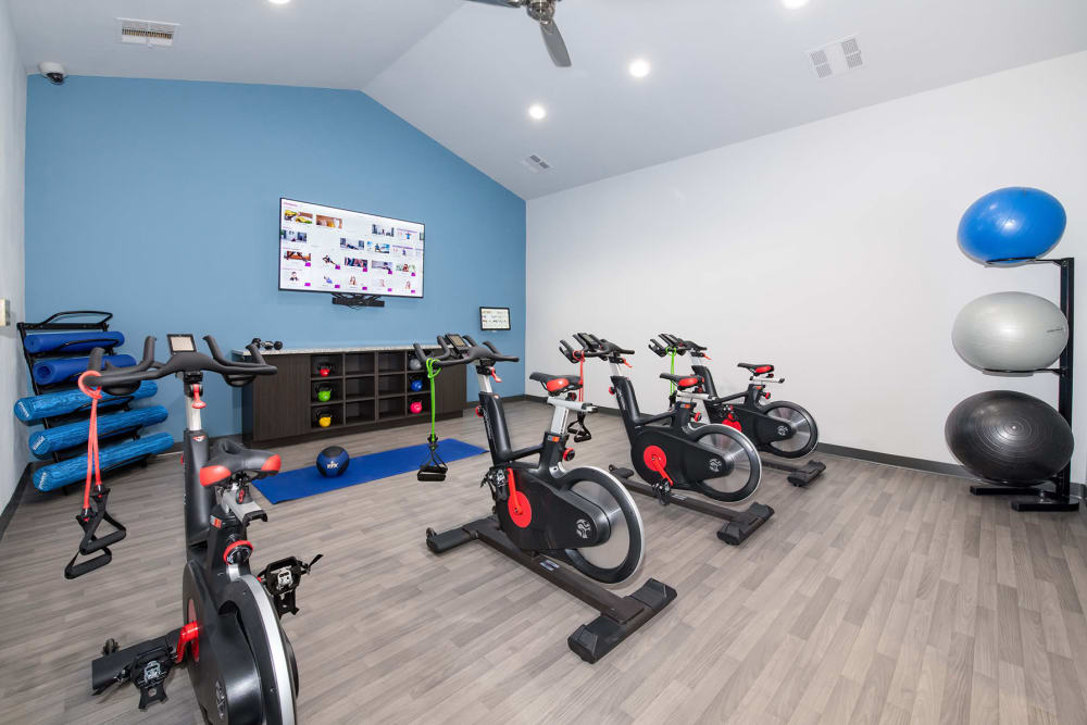 Our Apartments in Carrollton, Texas offer a Fitness Center