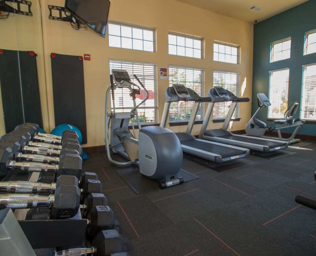 Fitness center at Tuscany Hills at Nickel Creek in Tulsa, Oklahoma