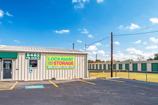Exterior of Lockaway Storage in Schertz, Texas