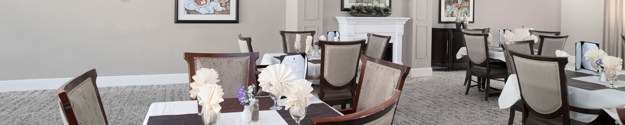 Dining at Harmony at Spring Hill in Lorton, Virginia