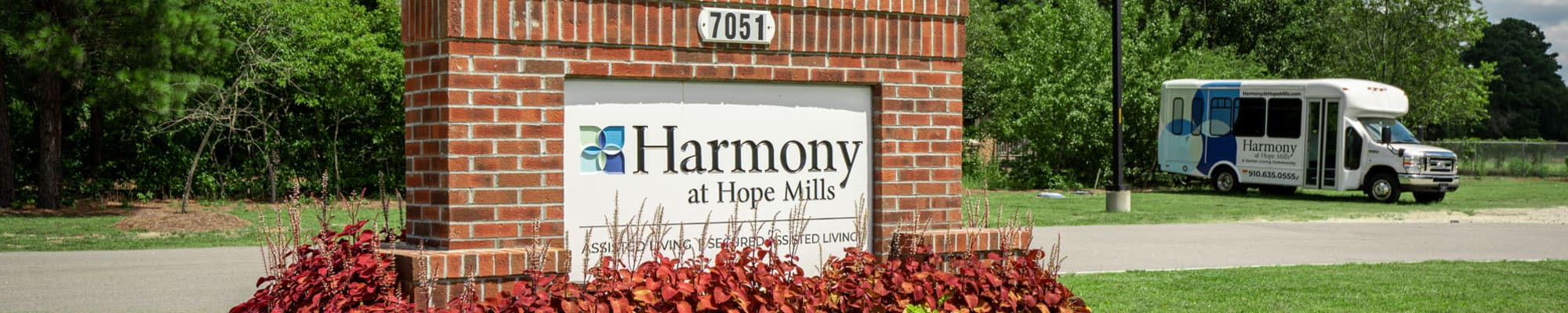 Contact Us at Harmony at Hope Mills in Fayetteville, North Carolina