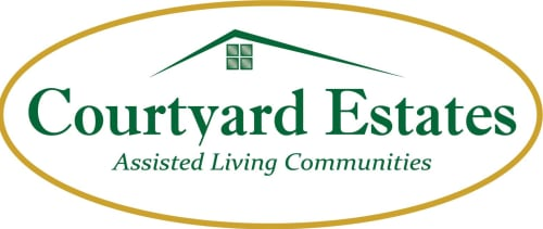 Courtyard Estates at Hawthorne Crossing Logo