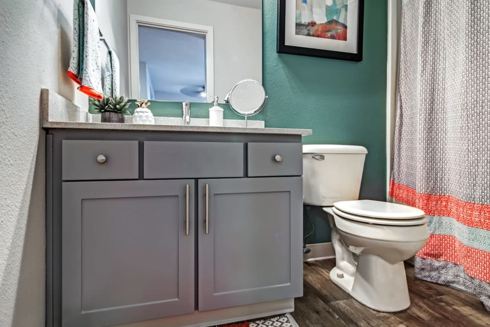 Our beautiful apartments in Beaverton, Oregon showcase a bathroom