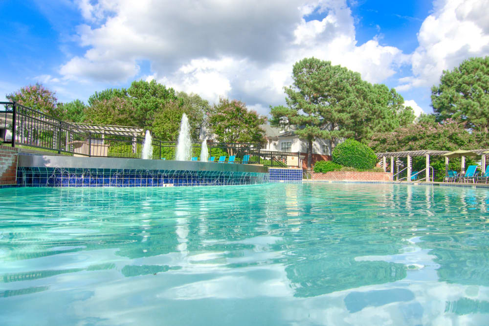 Swimming pool at Enclave at Wolfchase in Cordova, Tennessee