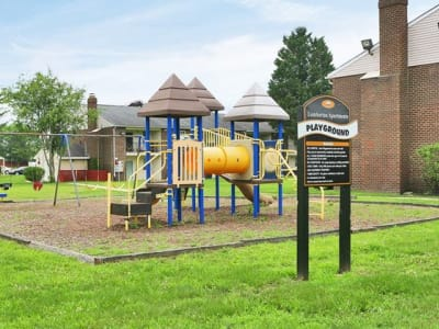 Lumberton Apartment Homes offers a beautiful playground in Lumberton, NJ