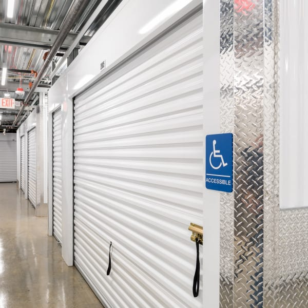 Accessible units at StorQuest Self Storage in Federal Way, Washington
