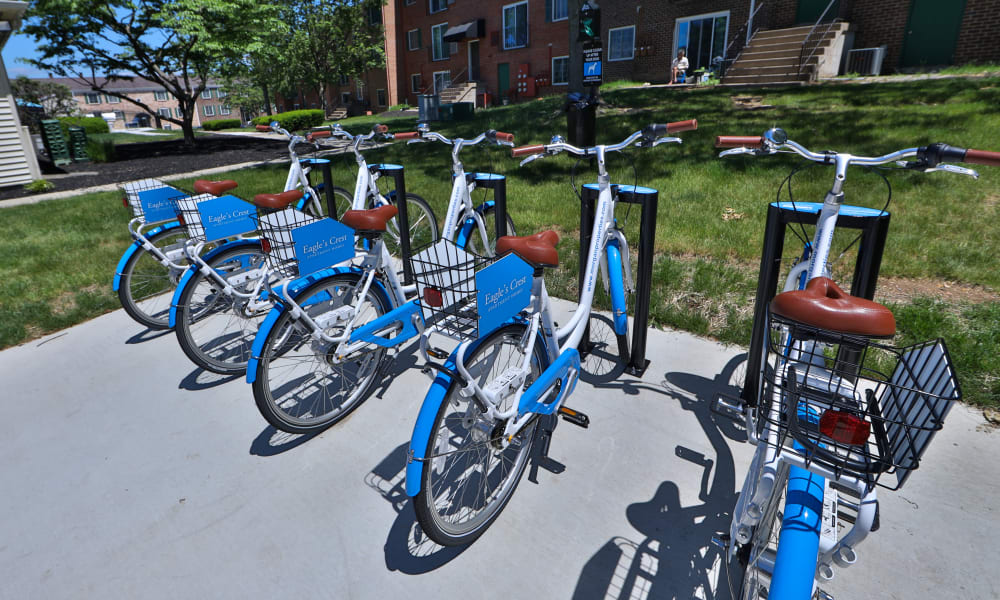 Bike Share to Eagle's Crest Apartments in Harrisburg, Pennsylvania