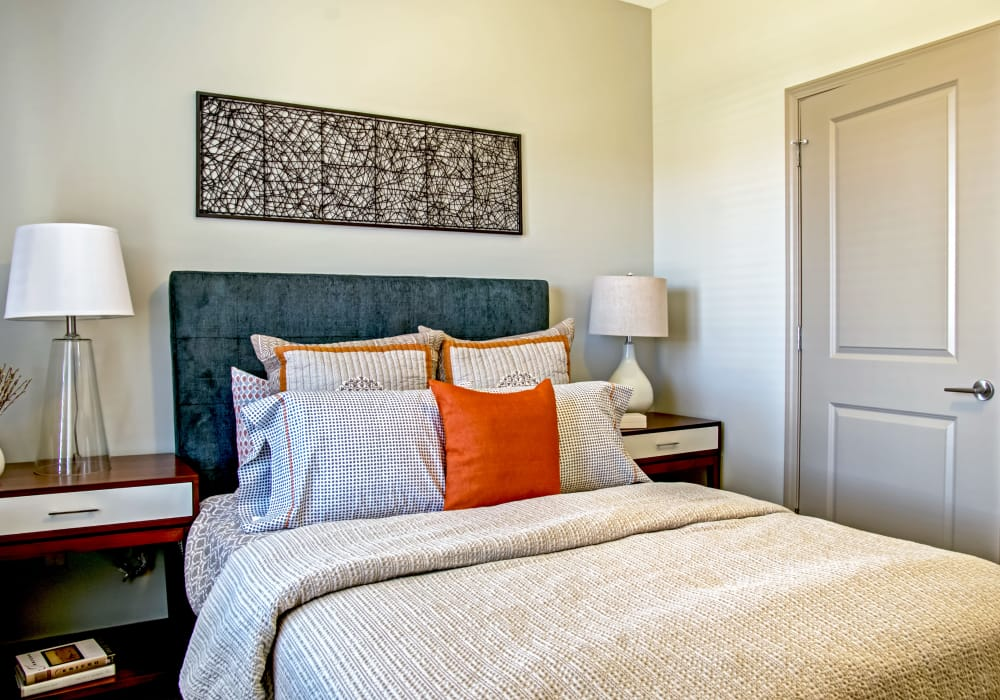 Station 40 offer cozy bedrooms in Nashville, Tennessee