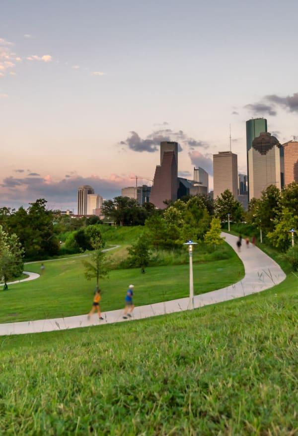 Residents exploring Houston, Texas near Marq 31