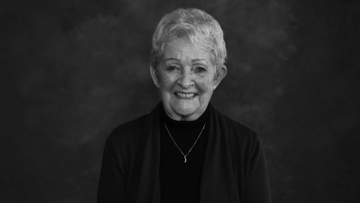 Portrait of Beverly Carpentier, resident of Touchmark at Meadow Lake Village