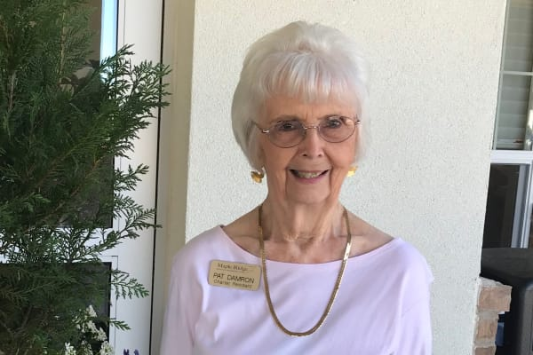 Shirley a resident at Maple Ridge Gracious Retirement Living in Cedar Park, Texas