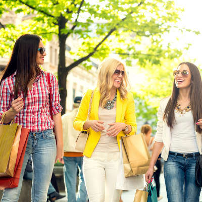 Enjoy the retail shopping near Longview Apartment Homes