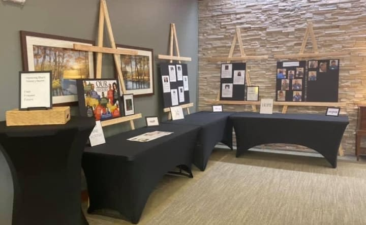 Woodstock (GA) dedicated half of a room to their Black History Month display!