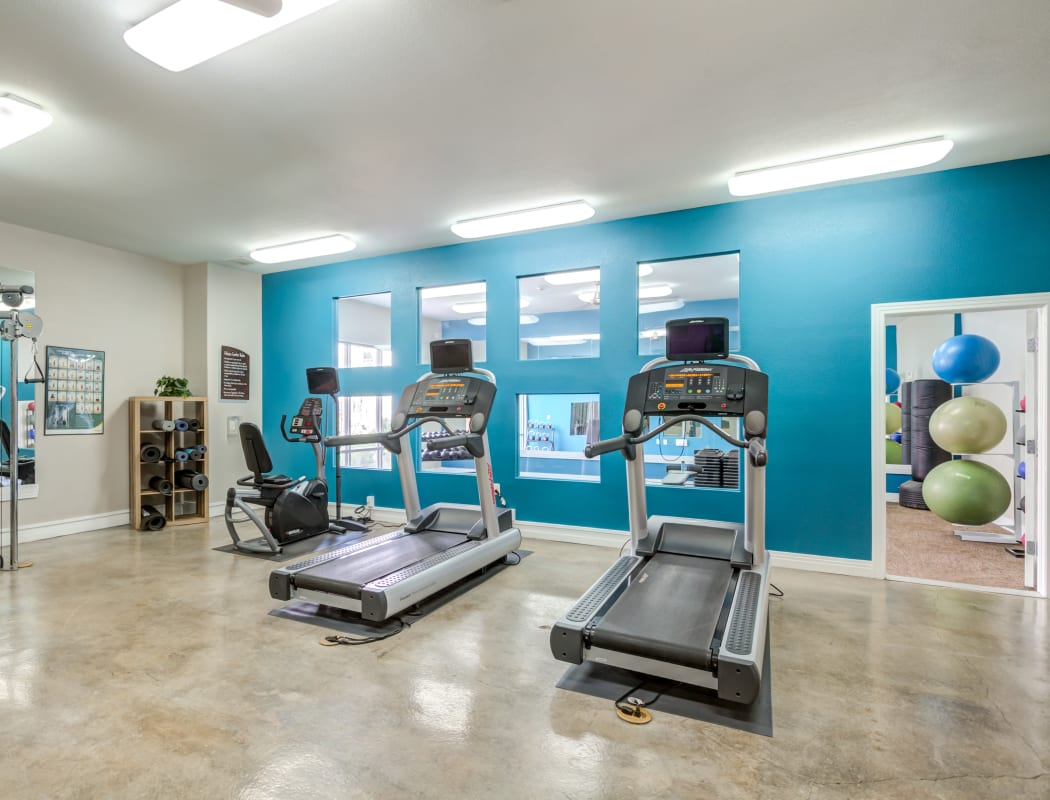 Fitness Center at Diamond at Prospect Apartments