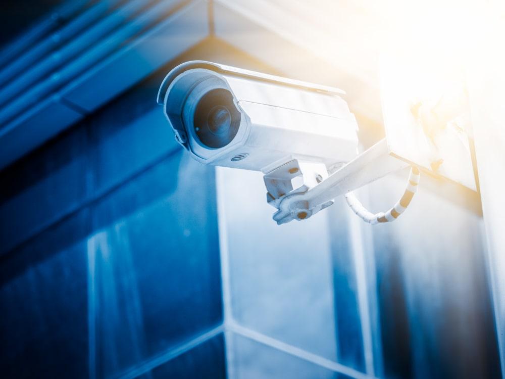Security camera at Nest Self Storage in Salem, Oregon