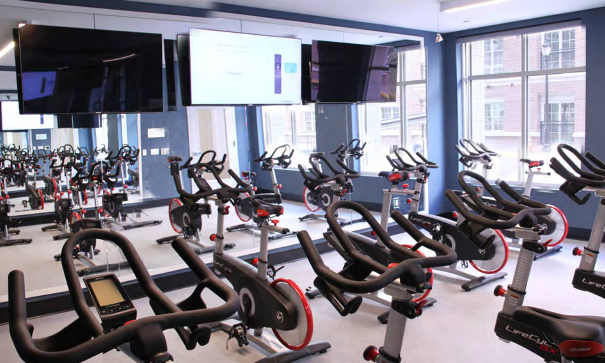 Our apartments in Secaucus, New Jersey showcase a renovated fitness center