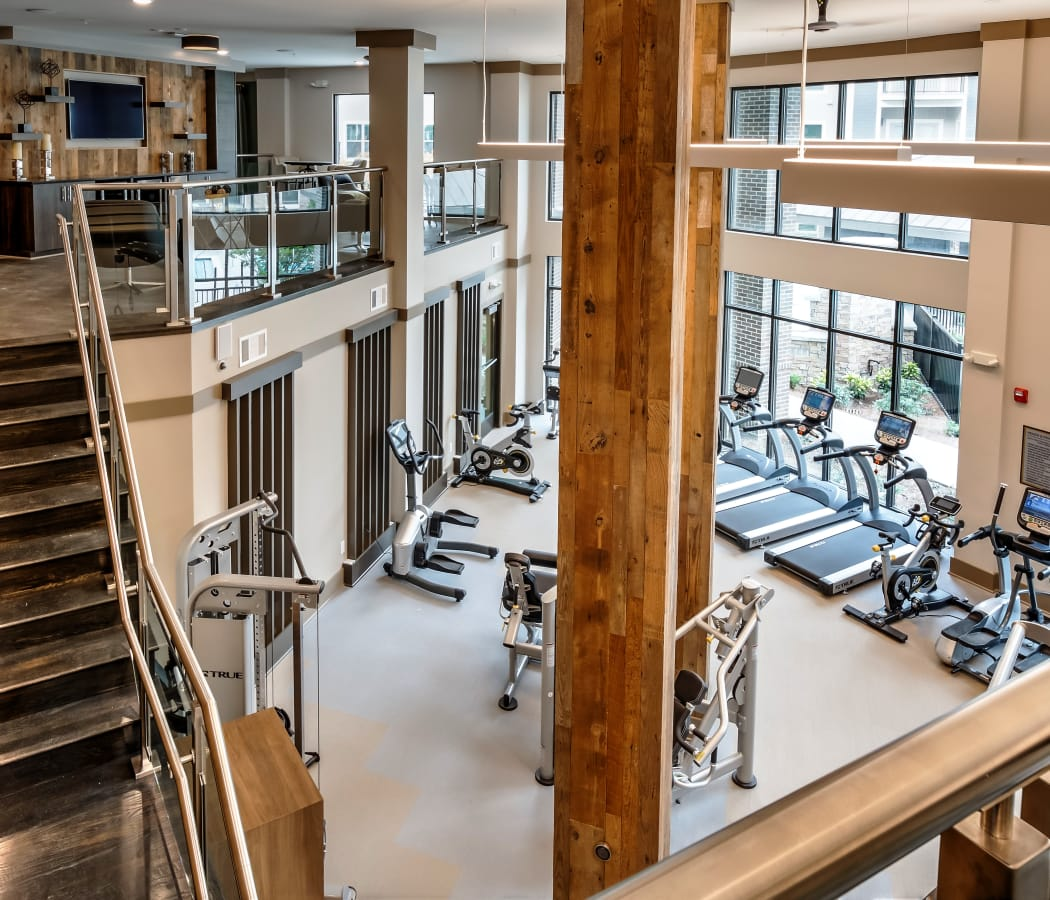 View of our fitness center at Alta at Jonquil in  Smyrna, Georgia