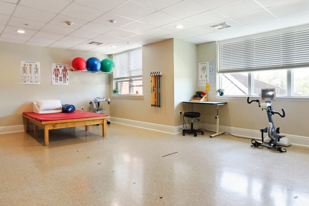 Therapy room at Harmony at Martinsburg in Martinsburg, West Virginia