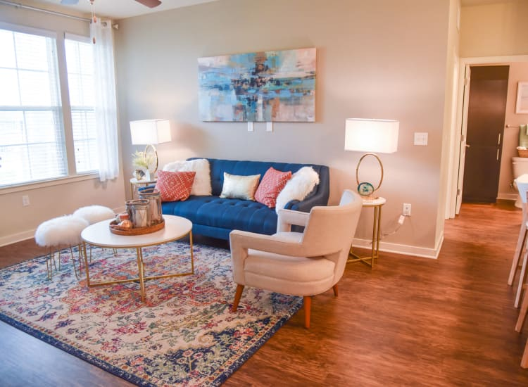 living room at Springs at Port Charlotte in Port Charlotte