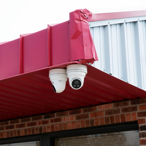 Security cameras at Red Dot Storage in Hammond, Louisiana