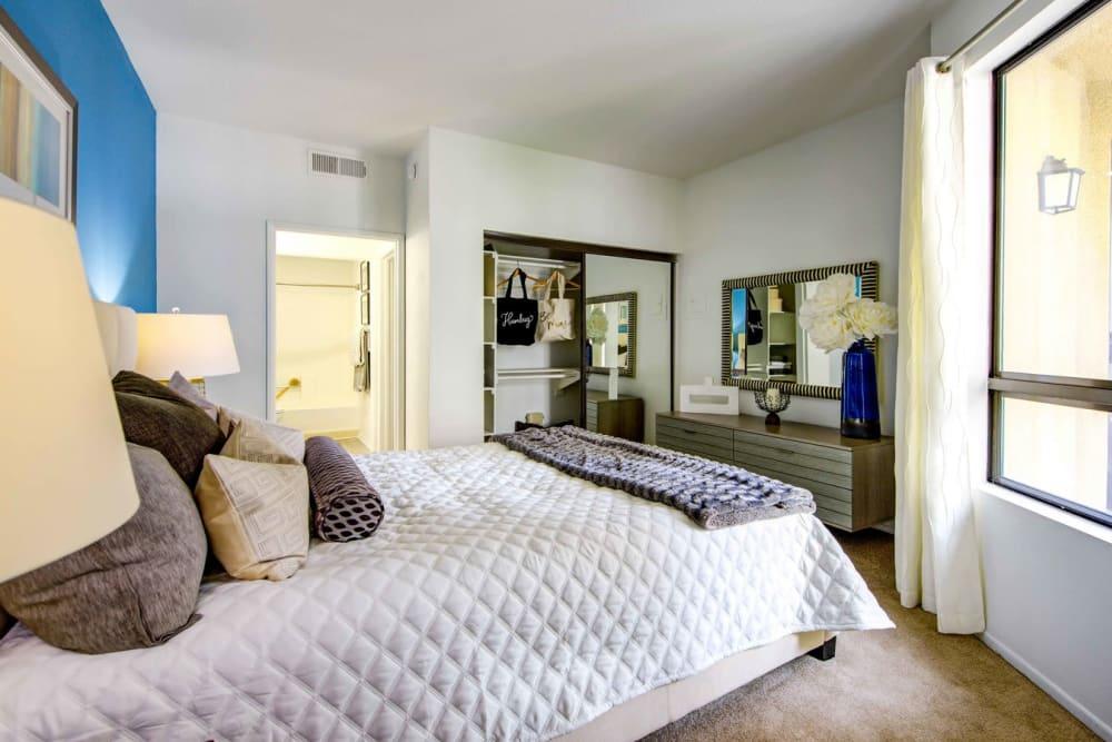 Bedroom at Sofi at 3rd in Long Beach, CA