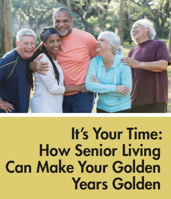 It's Your Time at Claiborne Senior Living