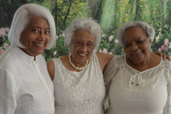 Residents at Senior PromCamellia Gardens Gracious Retirement Living in Maynard, Massachusetts