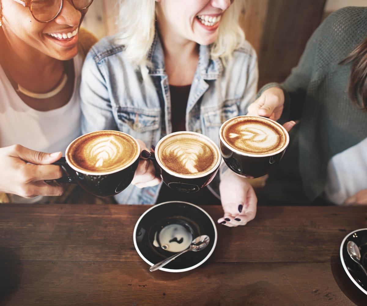 Girls having coffee in Wichita, Kansas near Newport Wichita