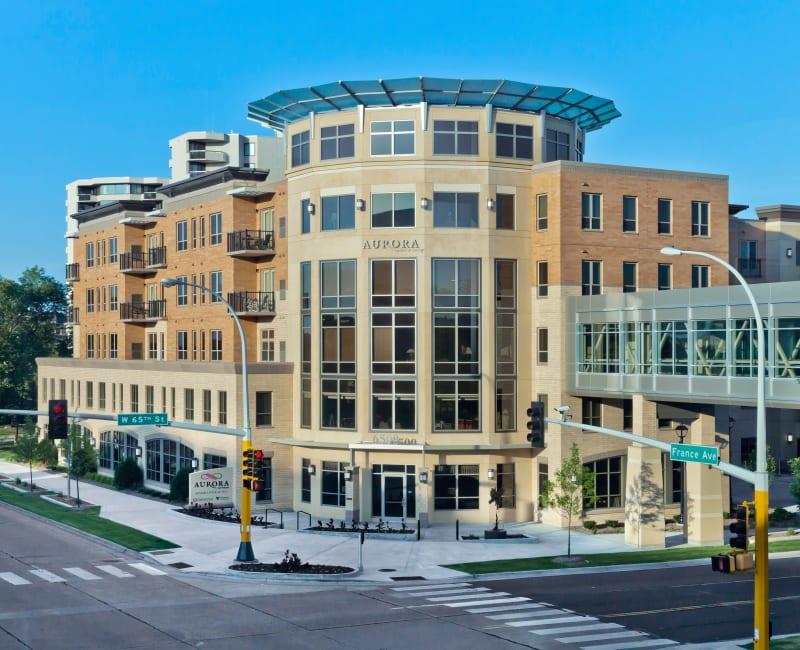 The main building at Aurora on France in Edina, Minnesota