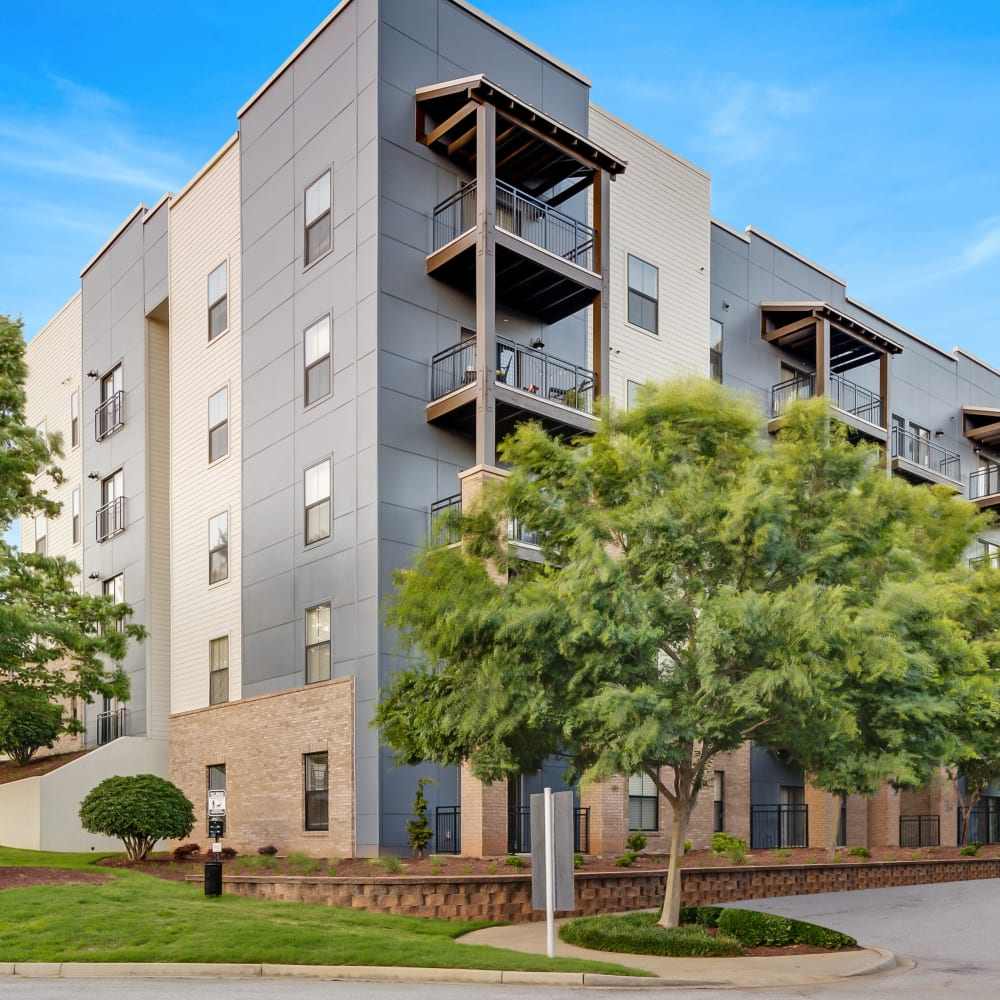 View the site for McBee Station apartments in Greenville, South Carolina