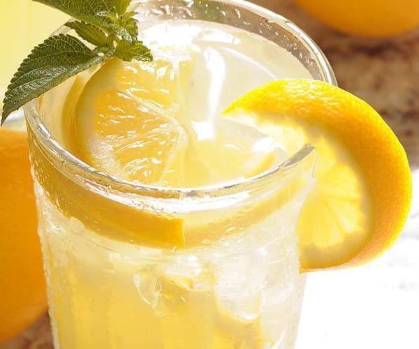 Refreshing glass of lemonade at Brightwater Senior Living of Capital Crossing in Regina, Saskatchewan