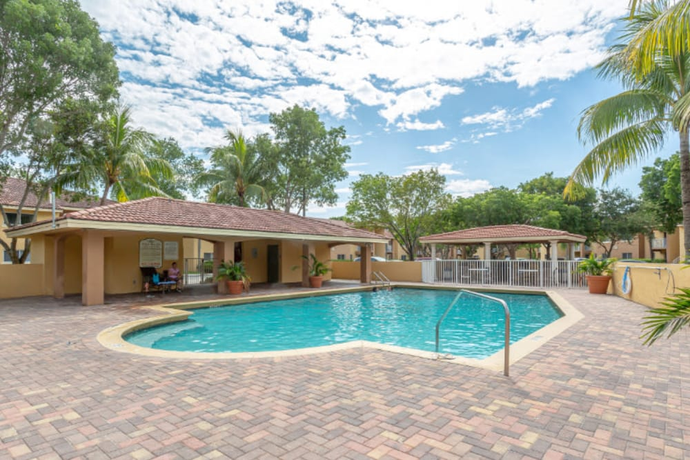Our Apartments in Hialeah, Florida offer a Swimming Pool