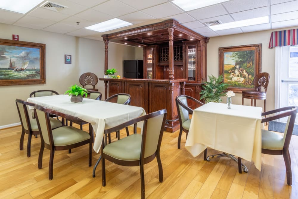 Pub at The Harmony Collection at Roanoke - Independent Living in Roanoke, Virginia