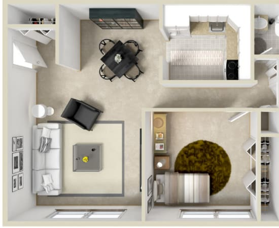 Floor Plans at Braeside Apartments in Marcellus