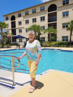 Phayne & Jerry, residents at Merrill Gardens at Solivita Marketplace in Kissimmee, Florida.
