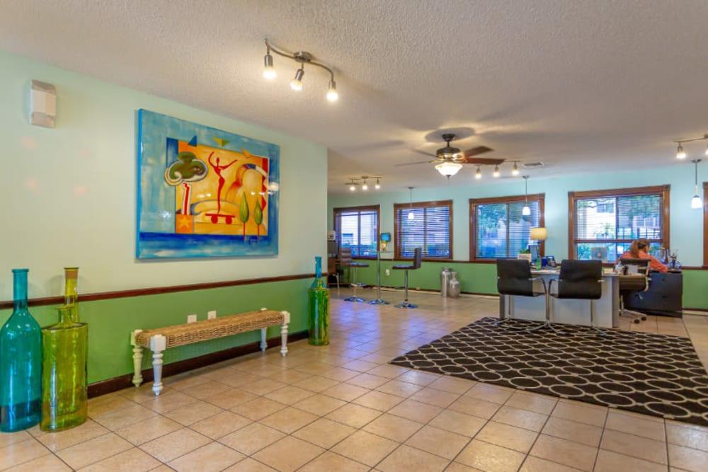 Leasing Office Lobby at Fairway View Apartments in Hialeah, FL
