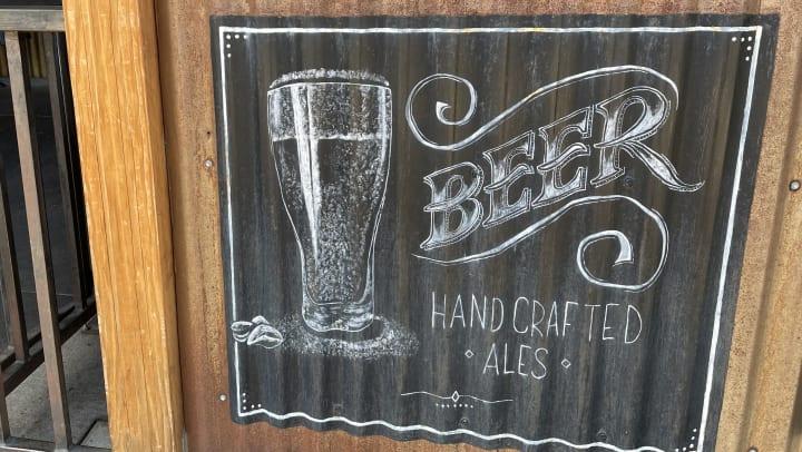 LBB Gastro Pub Beer Sign