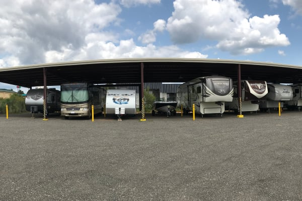Available RV storage at Byron Self Storage