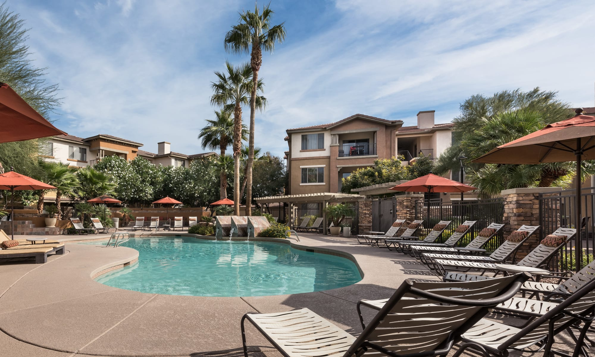 Community amenities at Borrego at Spectrum
