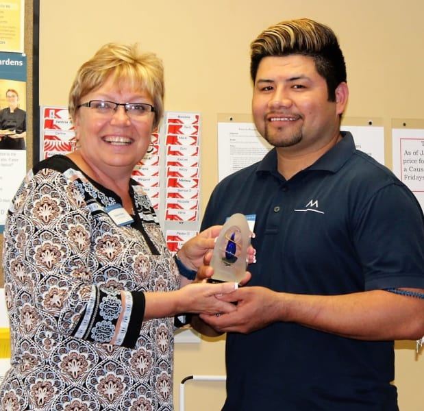 Team Member of the Year Jorge Vasquez