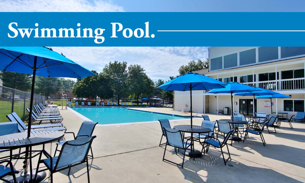 Our apartments in Largo, Maryland showcase a luxury swimming pool