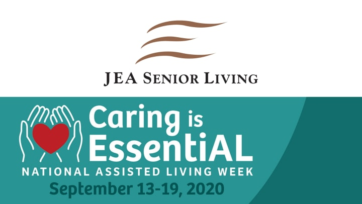 national assisted living week 2020 - jea senior living celebrates residents and employees