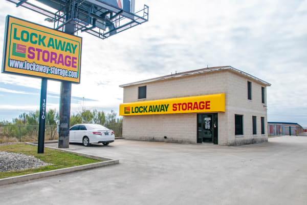 Exterior of Lockaway Storage in San Antonio, Texas