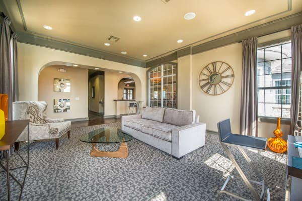 Updated Living room at Archer Stone Canyon in San Antonio, Texas