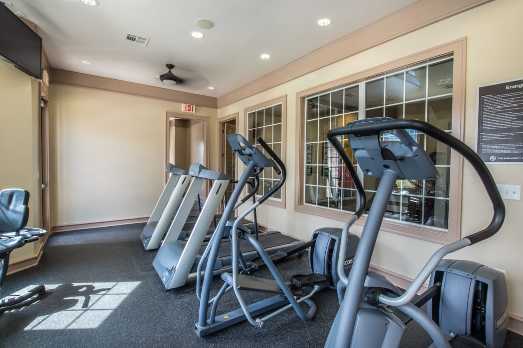 Fitness center at Archer Stone Canyon in San Antonio, Texas